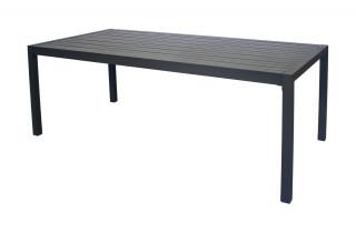 Table salon de jardin 8 personnes en aluminium - Palma - Hevea