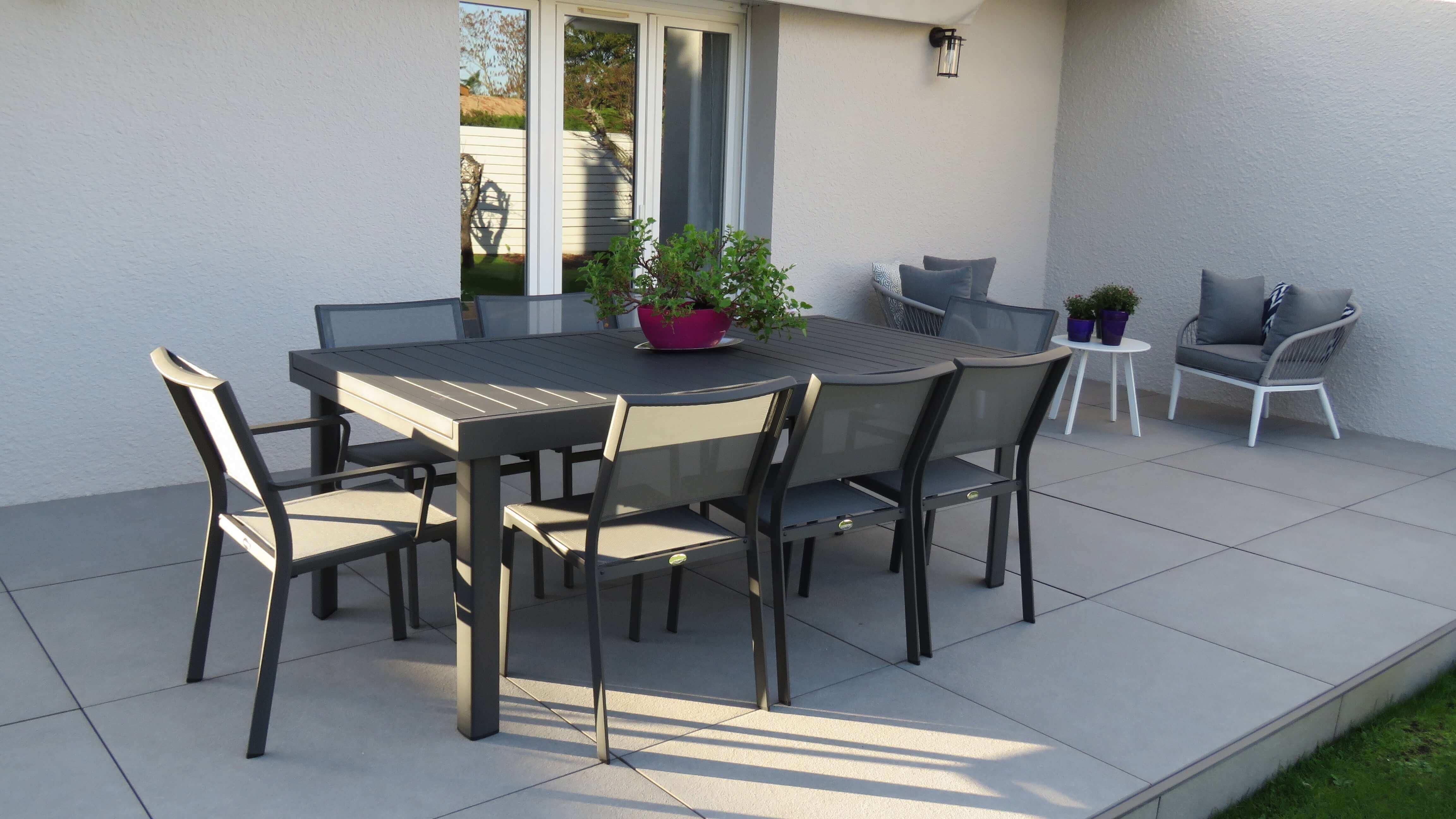Ensemble table et chaises Copenhague DCB Garden